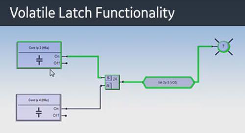 UR-1079 - Logic Monitor - Volatile Latch