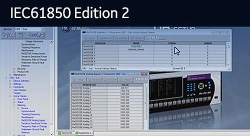 UR-107 - UR Platform IEC 61850 Ed2