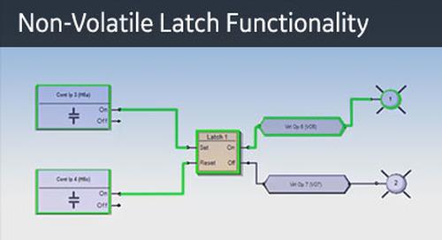 UR-1080 - Logic Monitor - Non-Volatile Latch