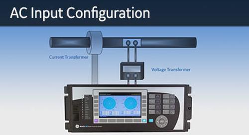 UR-110 - AC Input Configuration