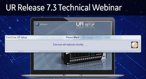 UR-2002 - UR Release 7.3 Technical Webinar