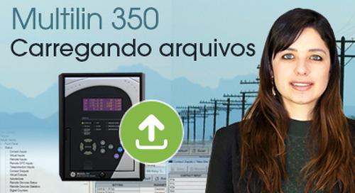 Multilin 350 - Carregando Arquivos de Configuração