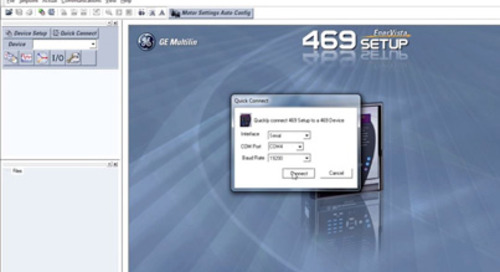Multilin 469 - Download and Save Setting Files