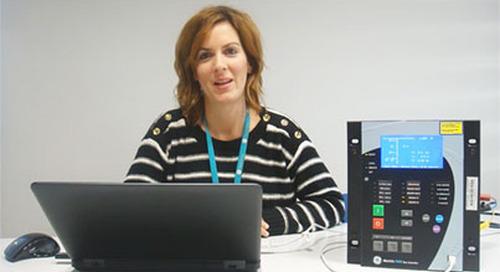 Multilin F650 - Comunicación por el Puerto USB Frontal