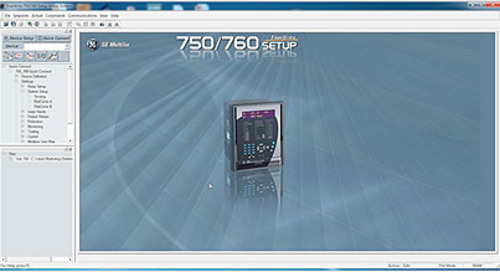 Multilin 750 - Carga de Archivo de Configuracion