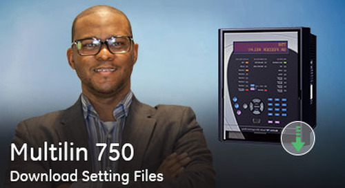 Multilin 750 - Download Setting Files