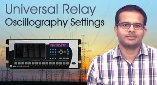 Multilin Universal Relay - Create Oscillography Settings