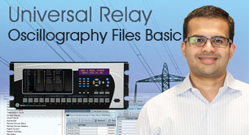 Multilin Universal Relay - Oscillography Files Basics