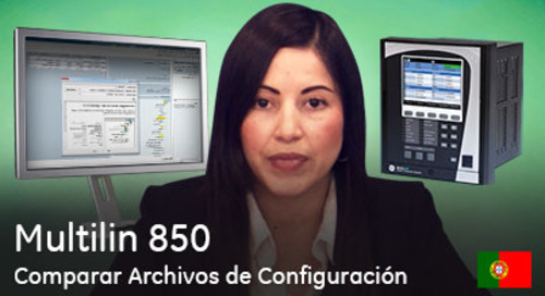 Multilin 850 - Cómo comparar Archivos de Configuración