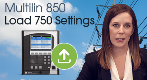 Multilin 850 - Convert and Load 750 Setting to an 8 Series Relay