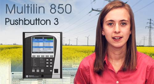 Multilin 850 - Programmable Pushbutton 3