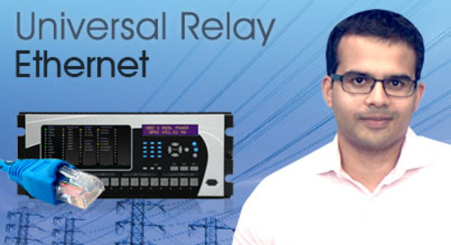 Multilin Universal Relay - Communicate using Ethernet