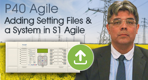 P40 Agile - Adding Setting Files and a System in S1 Agile