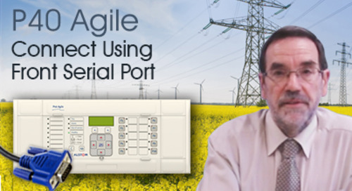 P40 Agile - How to Connect Using Front Serial Port