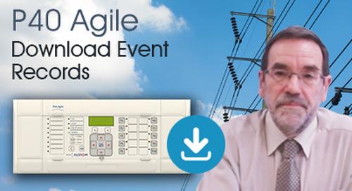 P40 Agile - Download Event Records