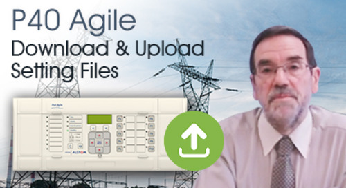 P40 Agile - How to Download Setting and Upload Setting Files
