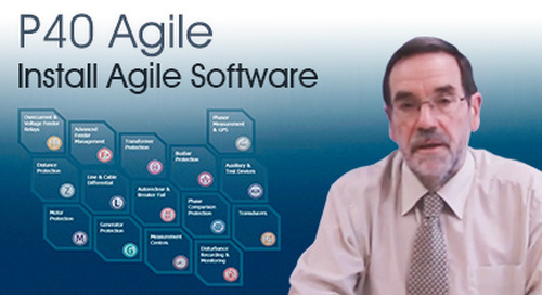 P40 Agile - How to Install Agile Software