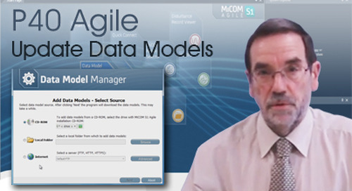 P40 Agile - How to Update Data Models