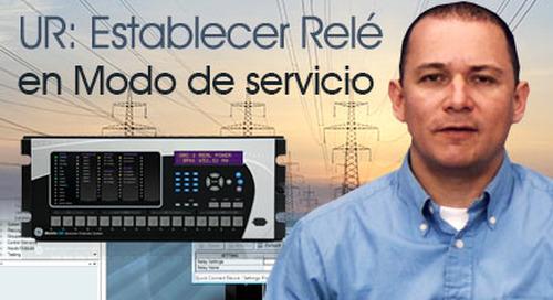 Multilin Universal Relay - Establecer el Relé en Modo de Servicio