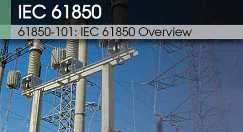 61850 101 | IEC 61850 Overview v1