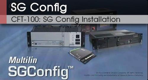 CFT-100 | SG Config Installation v1