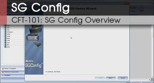CFT-101 | SG Config Overview v1