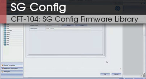 CFT-104 | SG Config Firmware Library v1