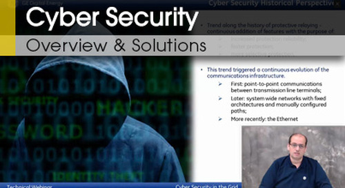 Cyber Security | Technical Webinar v1