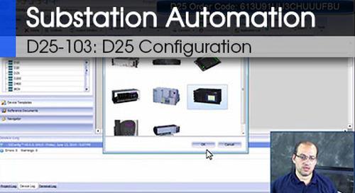 D25-103 - D25 Configuration