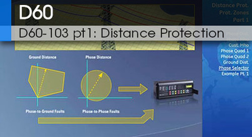 D60-103 pt1 | Distance Protection v1