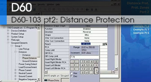 D60-103 pt2 | Distance Protection v1