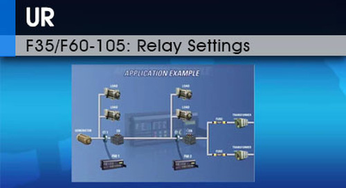 F35/F60-105 | Relay Settings v1