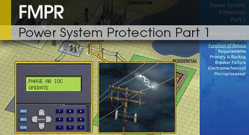 FMPR-103 pt1 | Power Systems Protection v1