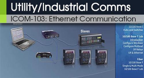 ICOM-103 | Ethernet Communications v1
