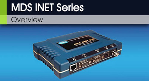 MDS iNET Series Overview