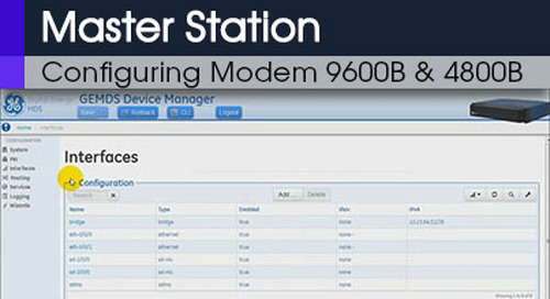MDS Master Station Configuring Modem 9600B & 4800B Command Line & Web Interface v1 0