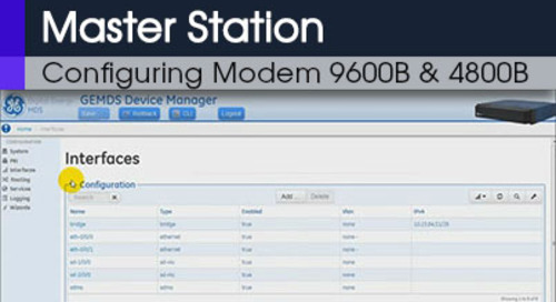 MDS Master Station Configuring Modem 9600B & 4800B Command Line & Web Interface v1 0