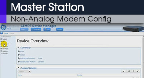 MDS Master Station Configuring Modem None Analog Command Line & Web Interface v1 1