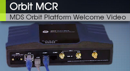 Welcome to the MDS Orbit Platform: An Overview v1.0