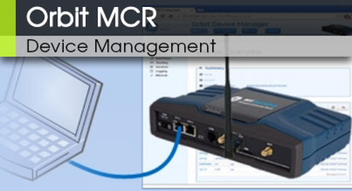 Orbit MCR | Device Management v3.0