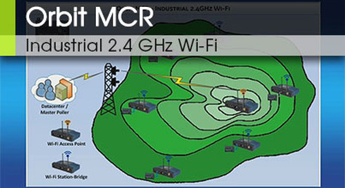 Orbit MCR | Industrial 2.4 GHz Wi-Fi v3.0