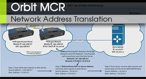 Orbit MCR Network Address Translation NAT v3.0
