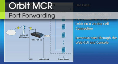 Orbit™ MCR | Provisioning Cell with SIM Installation v1.1