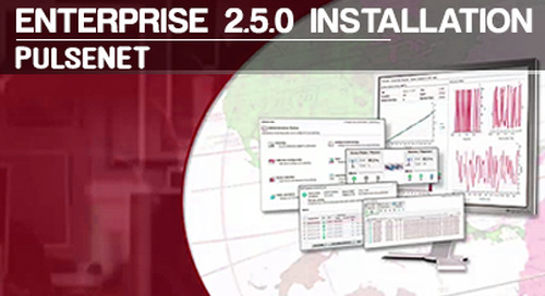 PulseNET™ | Enterprise 2.5.0 Installation v1.1