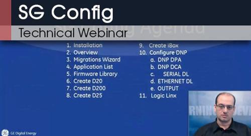 SG Config | Technical Webinar v1