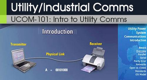 UCOM-101 | Introduction to Utility Communications v1