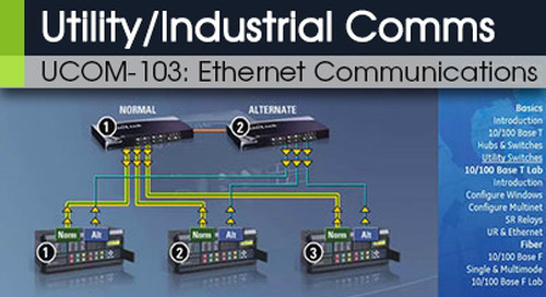 UCOM-103 | Ethernet Communications v1