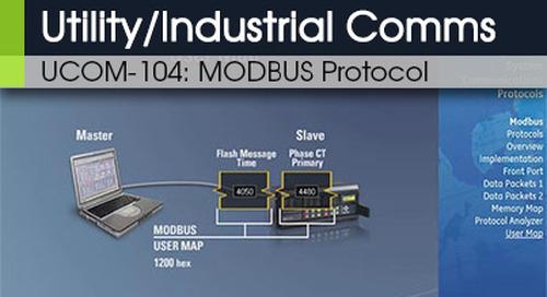 UCOM-104 | Modbus Protocol v1
