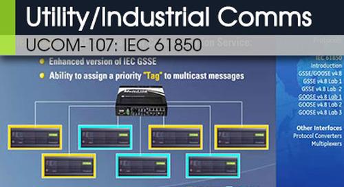 UCOM-107 | IEC 61850 v1