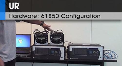 UR Hardware | 61850 Configuration v1